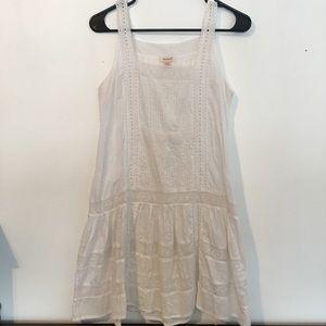 Sundance catalog white lace dress